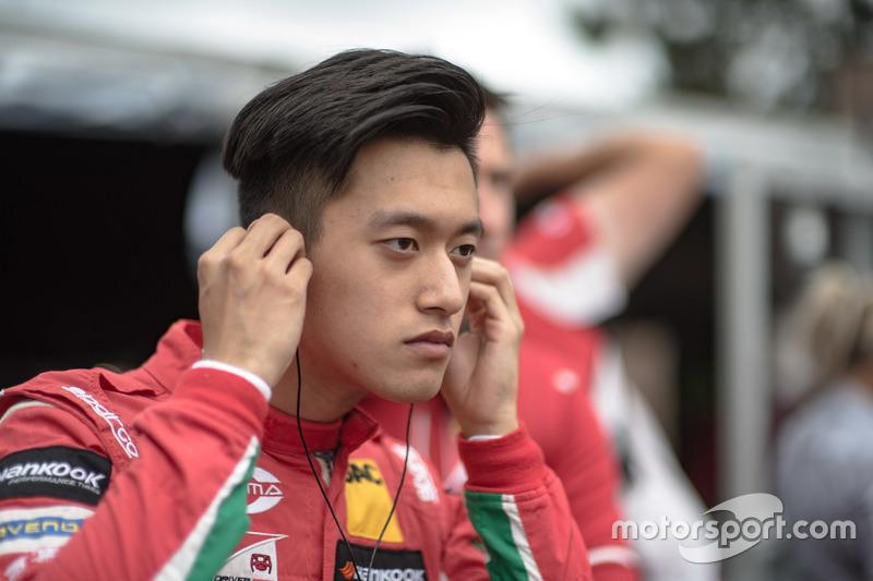 Чжоу Гуанью, Prema Powerteam, Dallara F317 - Mercedes-Benz