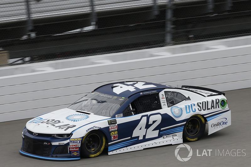 17. Kyle Larson, Chip Ganassi Racing, Chevrolet Camaro DC Solar