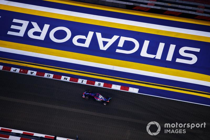 18 місце — Брендон Хартлі, Toro Rosso. Умовний бал — 5,88