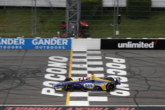 Александр Росси, Andretti Autosport Honda, финиш