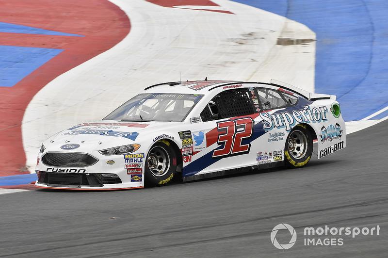 28. Matt DiBenedetto, Go FAS Racing, Ford Fusion Superior Logistics Services, Inc.