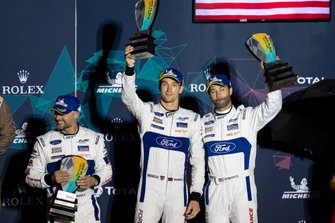 Podio GTE: #67 Ford Chip Ganassi Racing Ford GT: Andy Priaulx, Harry Tincknell, Jonathan Bomarito