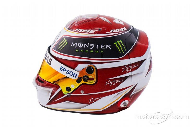 Le casque 2019 de Lewis Hamilton