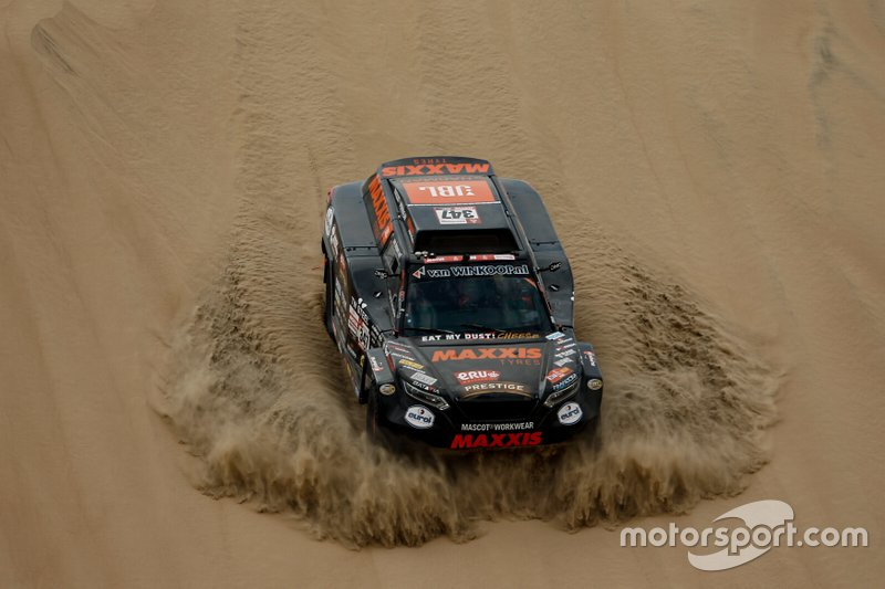 #347 Maxxis Dakar Team: Тім Коронель, Том Коронель