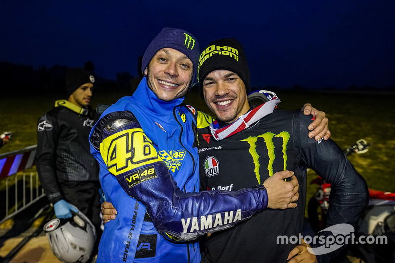 Valentino Rossi and Franco Morbidelli