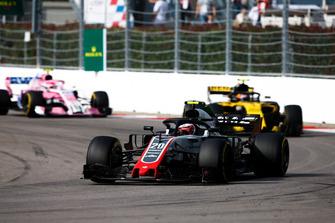 Кевін Магнуссен, Haas F1 Team VF-18, Карлос Сайнс-мол., Renault Sport F1 Team R.S. 18, Естебан Окон, Racing Point Force India VJM11