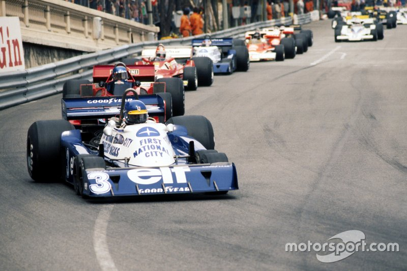 Ronnie Peterson, Tyrrell P34, in the Monaco GP