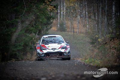 Финские тесты Криса Мика в составе Toyota