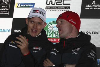 Ott Tänak, Toyota Gazoo Racing, Jari-Matti Latvala, Toyota Gazoo Racing