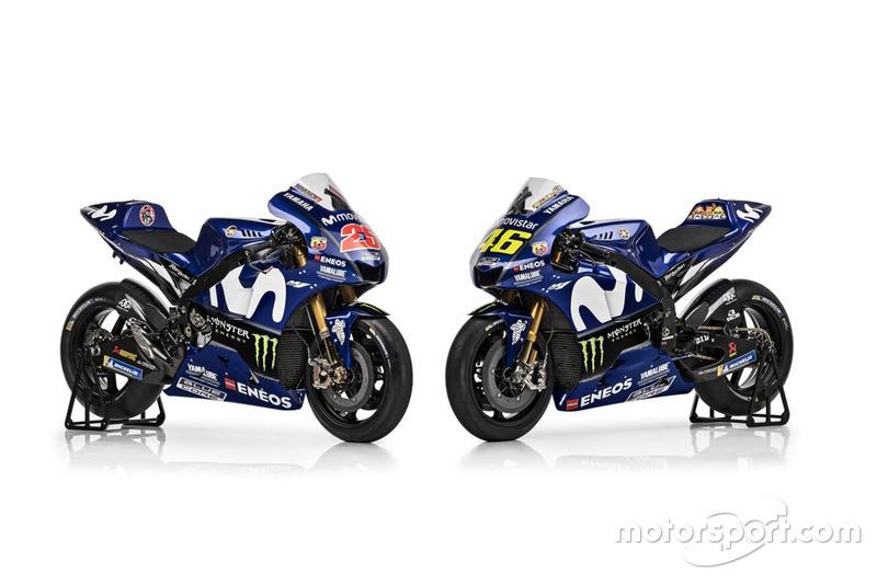 Motos de Maverick Viñales, Yamaha Factory Racing, Valentino Rossi, Yamaha Factory Racing