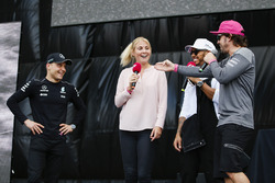 Lewis Hamilton, Mercedes AMG F1, Fernando Alonso, McLaren, on stage