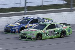 Dale Earnhardt Jr., Hendrick Motorsports Chevrolet, Chase Elliott, Hendrick Motorsports Chevrolet
