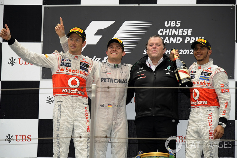 2012: Nico Rosberg