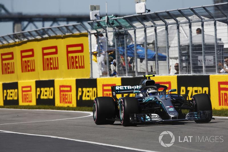 2. Валттери Боттас, Mercedes-AMG F1 W09 – 1:10.857