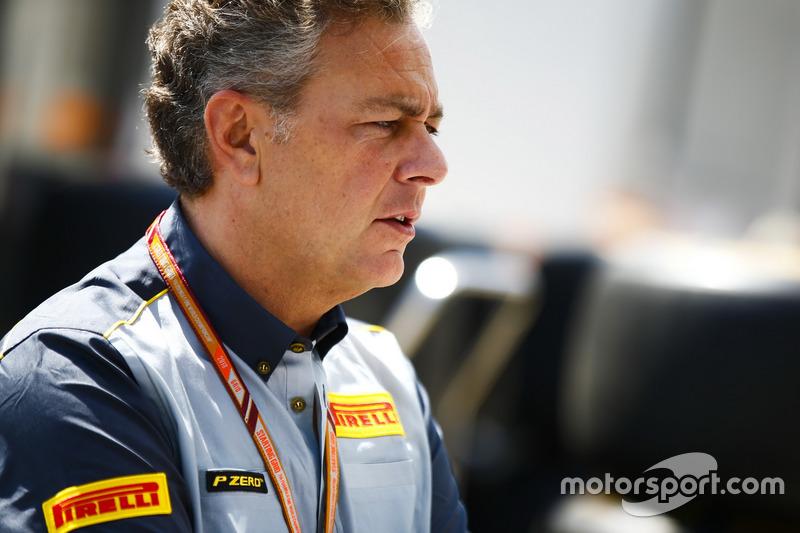 Mario Isola, jefe de Pirelli Motorsport