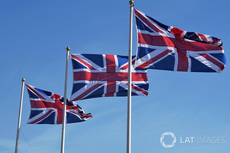 Bandiere del Regno Unito