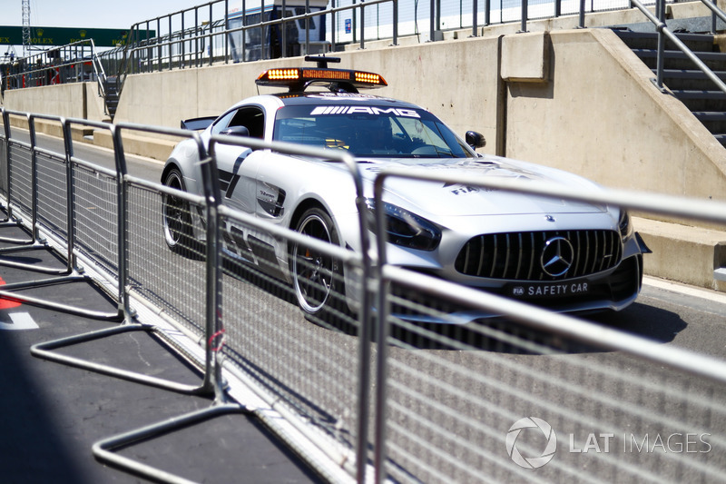Safety Car AMG Mercedes GT R