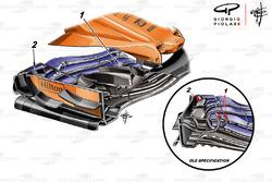 McLaren MCL33 első szárny, Monacói Nagydíj