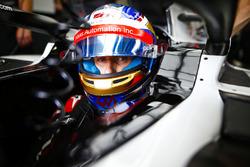 Romain Grosjean, Haas F1 Team, dans son cockpit