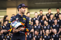 Daniel Ricciardo, Red Bull Racing en la foto del equipo Red Bull Racing