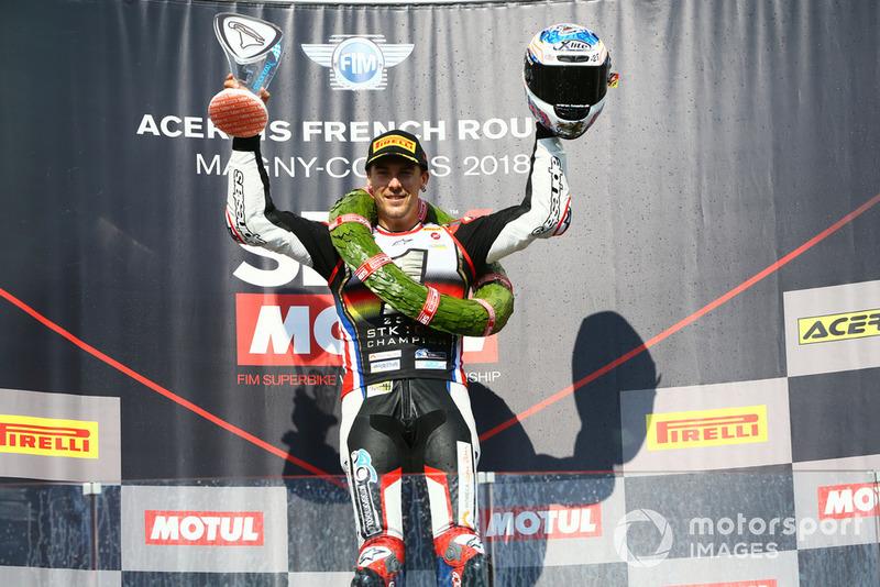 Markus Reiterberger se convierte en el campeón europeo de SSTK1000