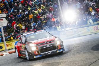 Халид Аль-Кассими и Крис Паттерсон, Citroën C3 WRC, Citroën World Rally Team