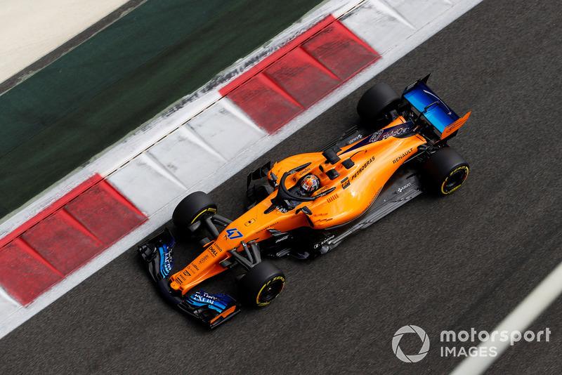 Ландо Норріс, McLaren MCL33