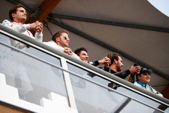 Tom Dillmann, NIO Formula E Team, Sam Bird, Envision Virgin Racing, Mitch Evans, Panasonic Jaguar Racing, Jean-Eric Vergne, DS TECHEETAH, Felipe Massa, Venturi Formula E