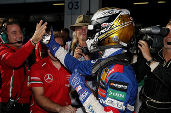 Il vincitore della gara Robert Shwartzman, PREMA Theodore Racing Dallara F317 - Mercedes-Benz