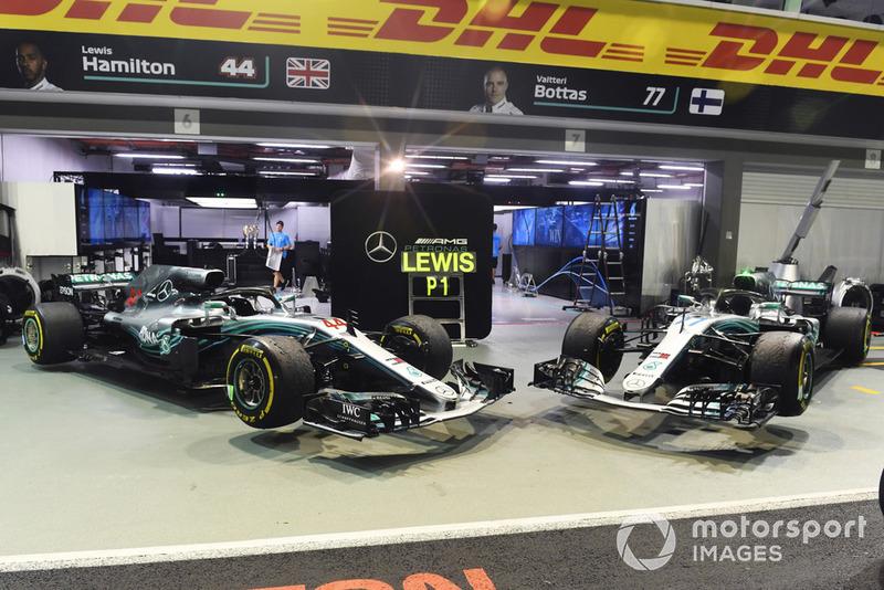 Mercedes AMG F1 W09 EQ Power+