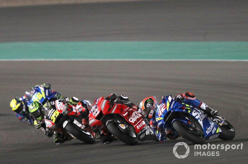 Danilo Petrucci, Ducati Team, Alex Rins, Team Suzuki MotoGP, Cal Crutchlow, Team LCR Honda
