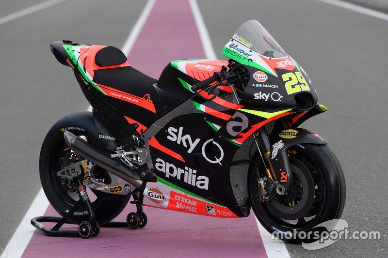 Aprilia Racing Team Gresini - Andrea Iannone