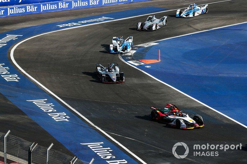 Lucas Di Grassi, Audi Sport ABT Schaeffler, Audi e-tron FE05 Sébastien Buemi, Nissan e.Dam, Nissan IMO1, Antonio Felix da Costa, BMW I Andretti Motorsports, BMW iFE.18