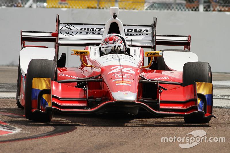 #26 Carlos Munoz (Andretti-Honda)