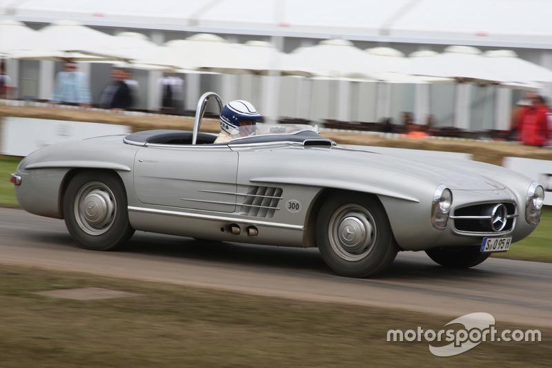 Jochen Mass, Mercedes 300SLS