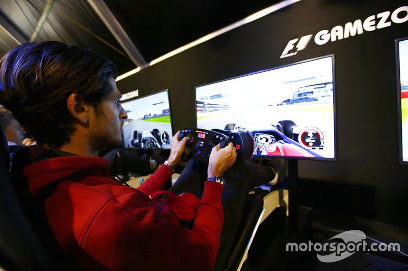 Antonio Giovinazzi, Prema Racing en la F1 Gamezone