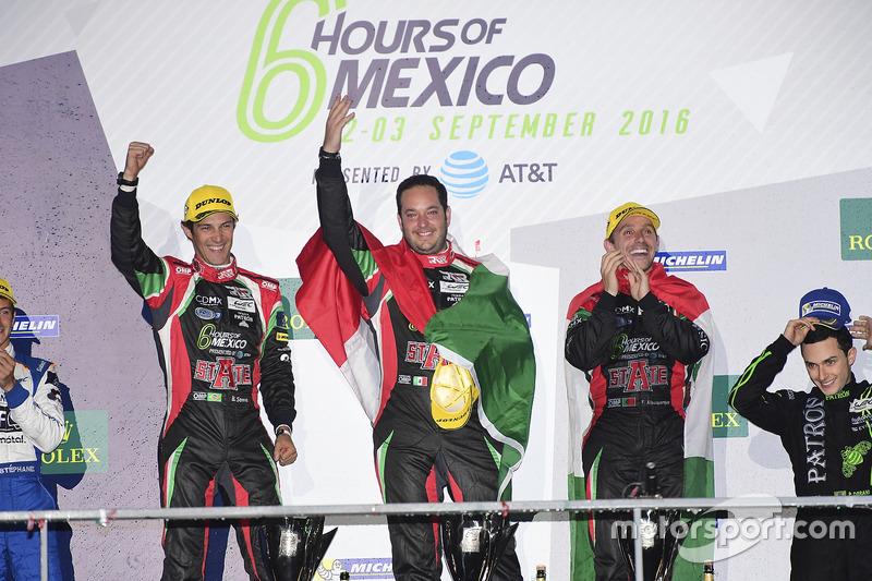 1. LMP2, Ricardo Gonzalez, Filipe Albuquerque, Bruno Senna, RGR Sport by Morand