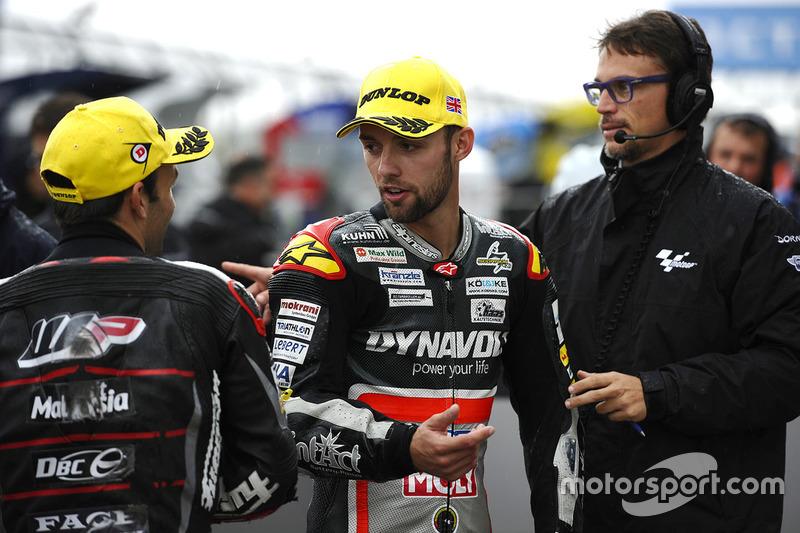 Jonas Folger, Dynavolt IntactGP; Johann Zarco, Ajo Motorsport
