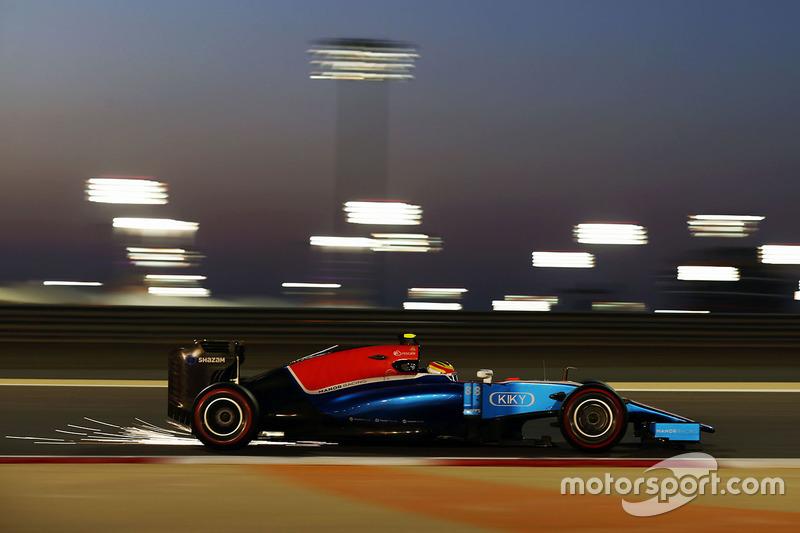 1. Rio Haryanto, Manor Racing MRT05