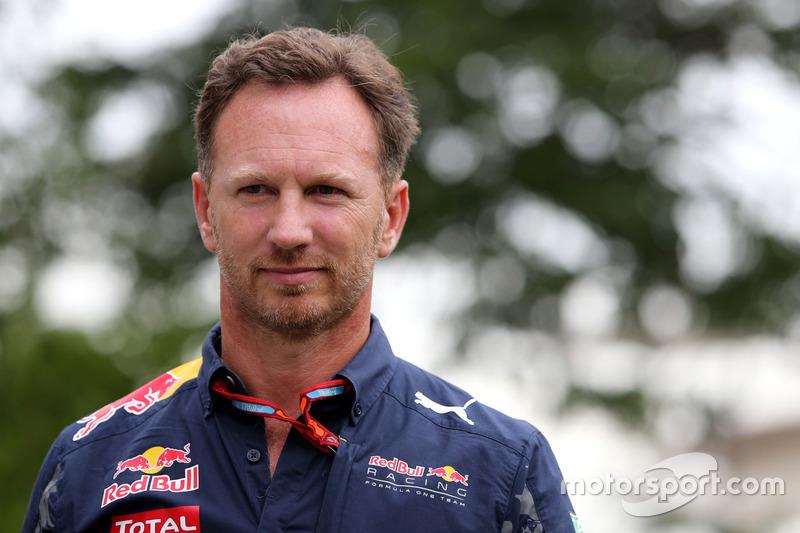 Christian Horner, Red Bull Racing,Teamchef