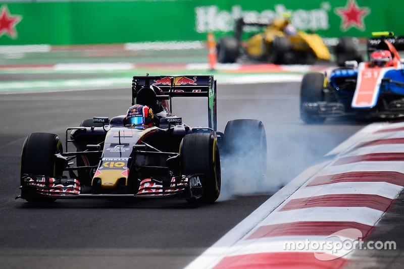 Verbremser: Daniil Kvyat, Scuderia Toro Rosso STR11