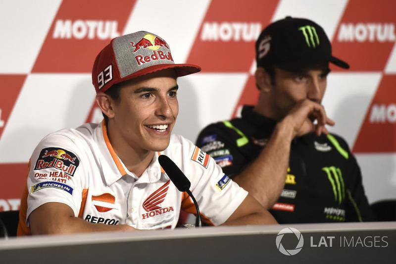 Conferencia de prensa, Valentino Rossi, Marc Marquez, Repsol Honda Team