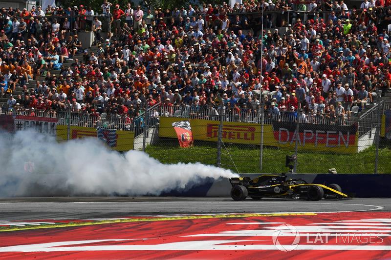 DNF: Nico Hulkenberg, Renault Sport F1 Team R.S. 18