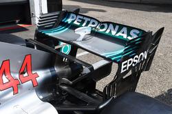 Mercedes-AMG F1 W09 ala trasera