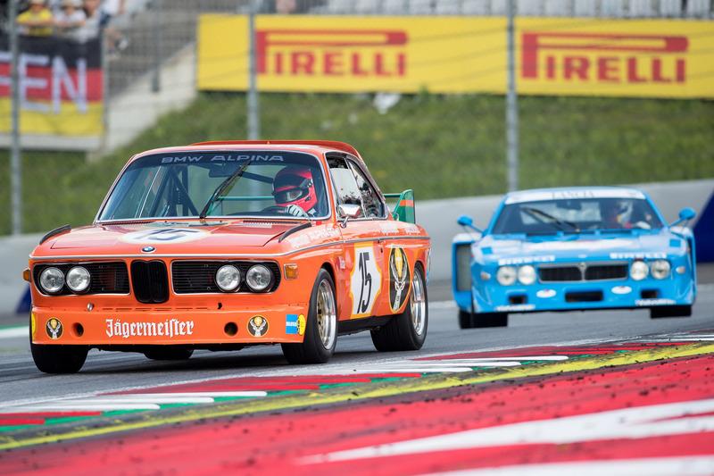 Niki Lauda, BMW 3.0 CSL e Hans Heyer, Lancia Corse