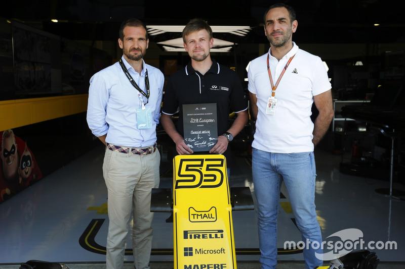 Infiniti Engineering Academy con Cyril Abiteboul, Managing Director, Renault Sport F1 Team