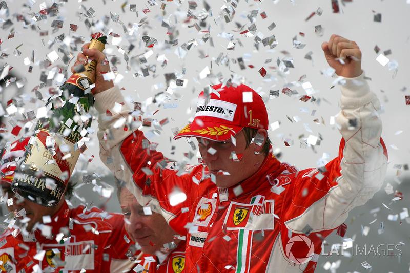 2007 Brezilya: Ferrari