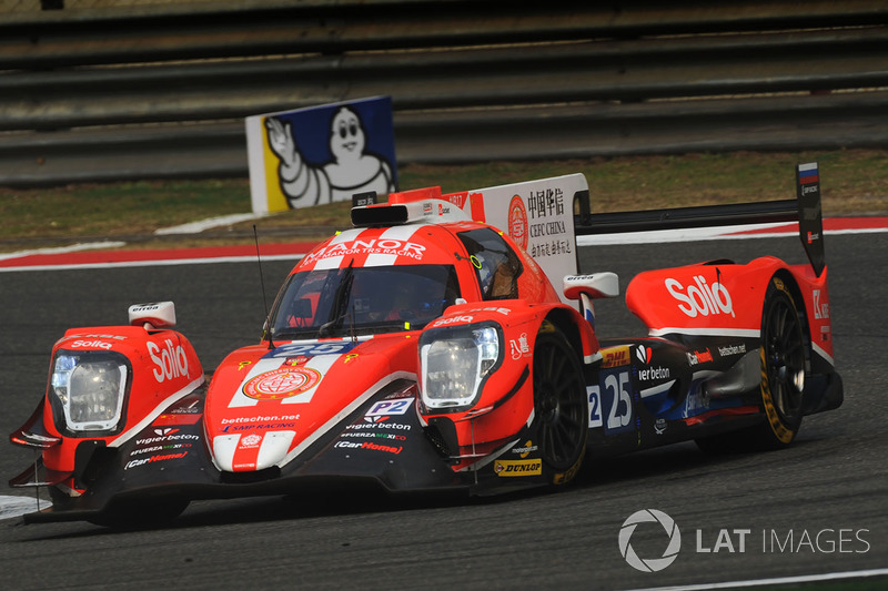 7. LMP2: #25 CEFC Manor TRS Team China, ORECA 07-Gibson