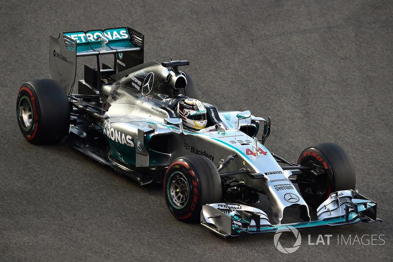 2014 - Lewis Hamilton, Mercedes AMG F1