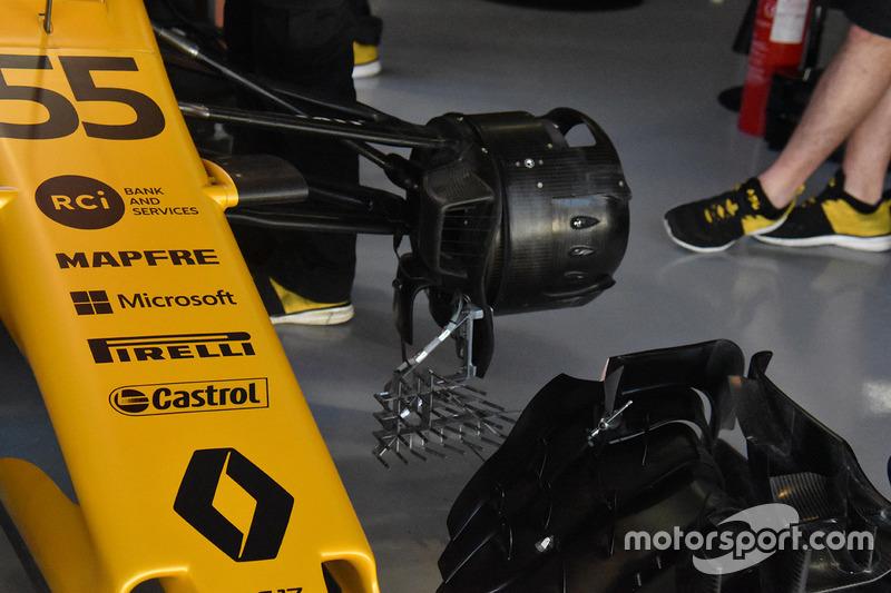 Renault Sport F1 Team RS17 fren detay